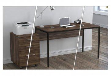 """Современный компьютерный стол в стиле """"LOFT"""""""